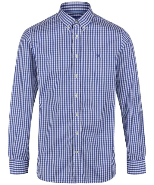 Men's Hackett Classic Check Shirt - Blue