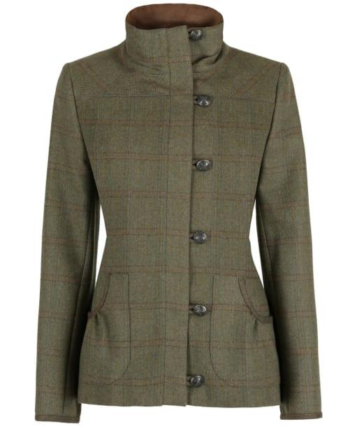 Women's Dubarry Bracken Tweed Jacket - Connacht Acorn