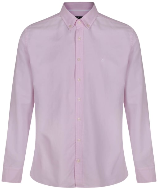 Men's Hackett Oxford Slim Shirt - Pink