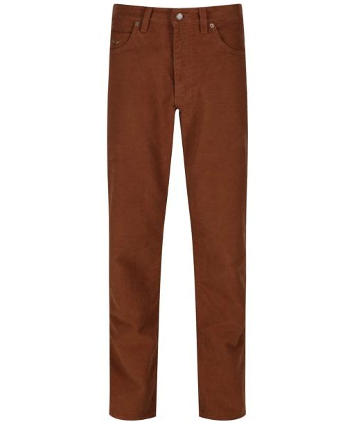 Men's R.M Williams Overseer Luxury Moleskin Jeans - Camel