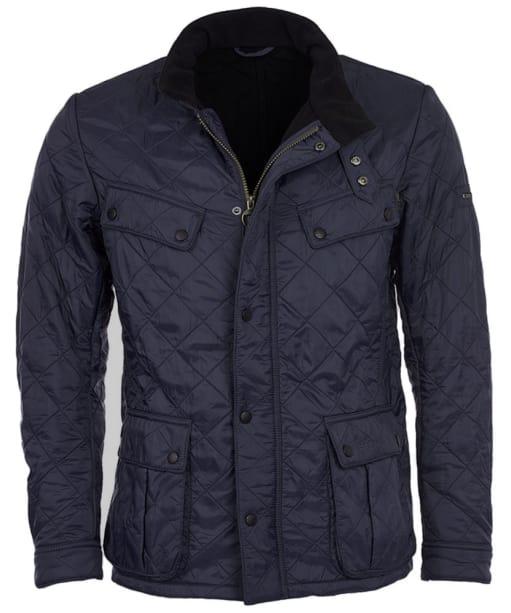 Men's Barbour International Ariel Polarquilt Jacket - Navy