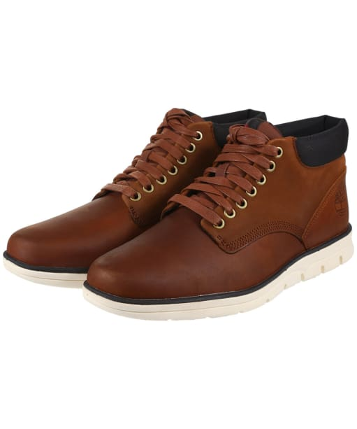 Men's Timberland Bradstreet Chukka Boots - Red Brown FG