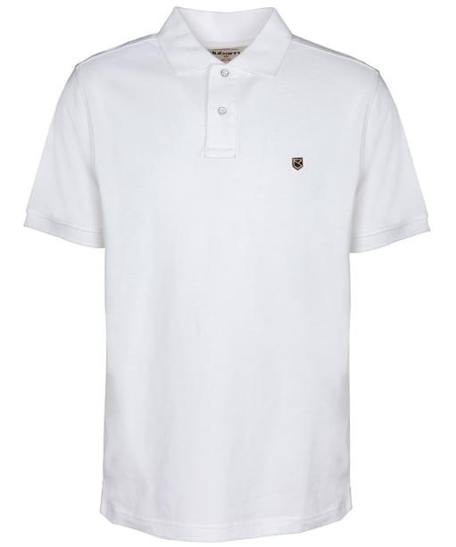 Men's Dubarry Banbridge Polo Shirt - White
