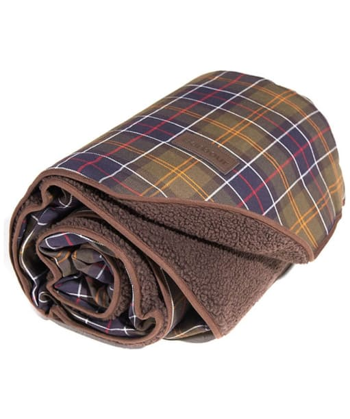 Barbour Medium Dog Blanket - Classic / Brown