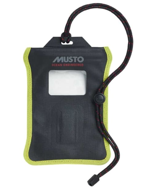 Musto Evo Waterproof Smartphone Case - Black