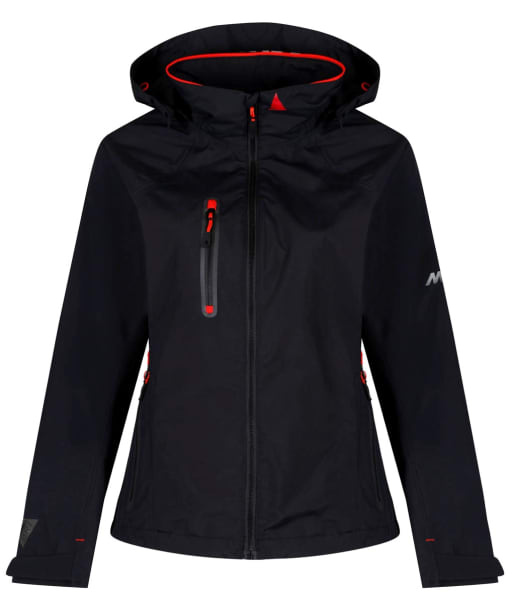 Women's Musto Sardinia BR1 Jacket - Black / Fire Orange