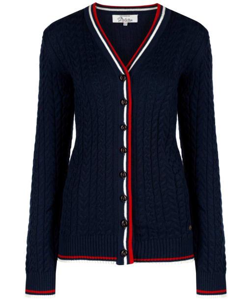 Women's Dubarry Gort Cable Cardigan - Navy