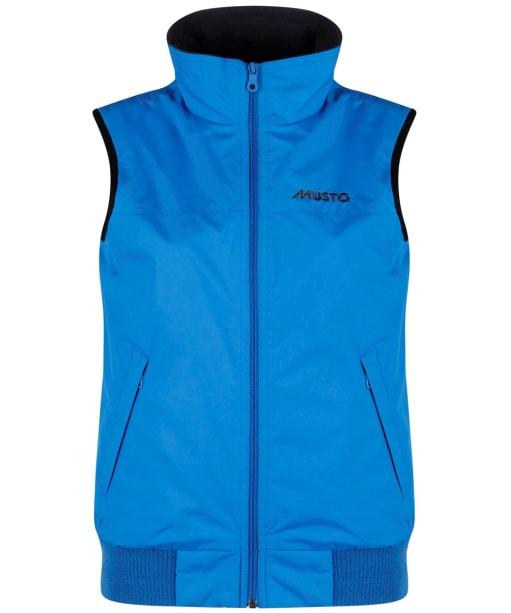 Women's Musto Snug Gilet - Atlantic Blue