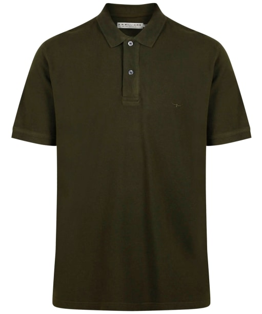 Men's R.M Willliams Rod Polo Shirt - Dark Green