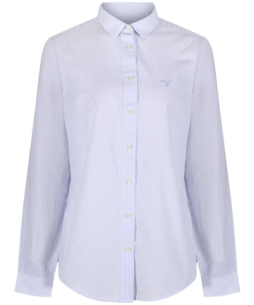 Women's GANT Seersucker Shirt - Lavender Blue