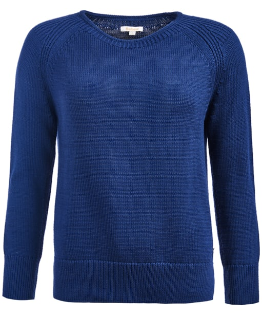 Women's Barbour Lowmoore Knit - French Navy