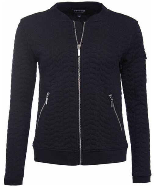 Women's Barbour International Blyton Sweat - Black