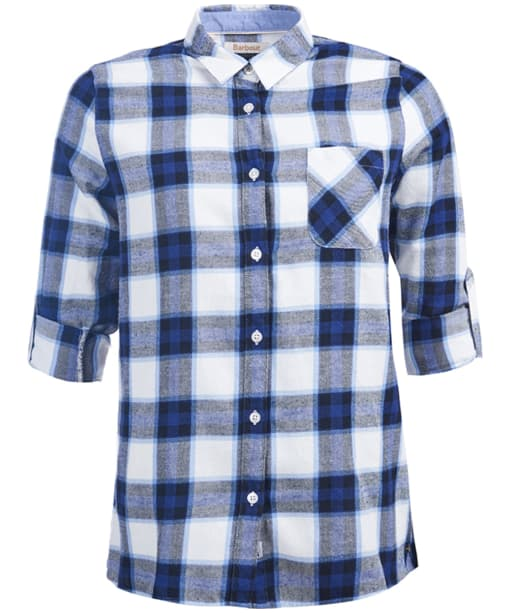 Women's Barbour Headland Shirt - Blue Check
