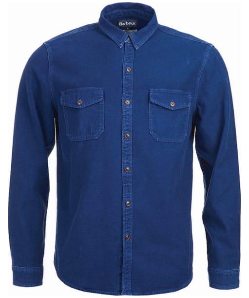Men's Barbour Belstone Shirt - Deep Blue