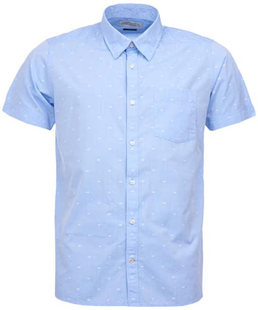 Men's Barbour Crab Shirt - Chambray