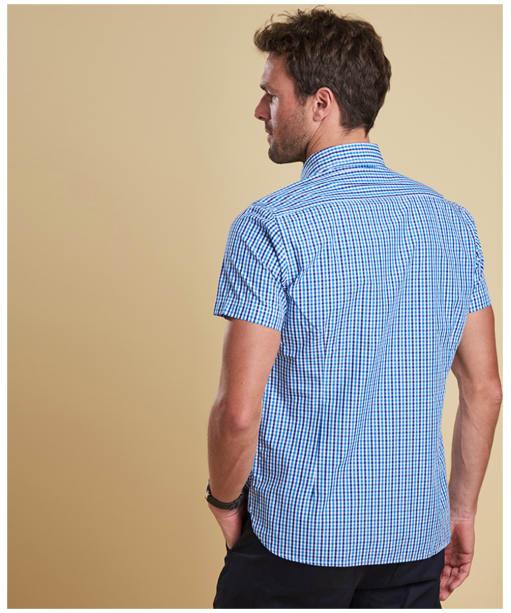 Men's Barbour Alston Check Shirt - Blue Check