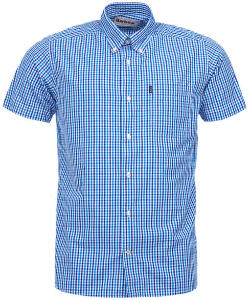 Men's Barbour Alston Check Shirt - Blue Check