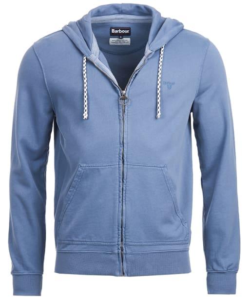 Men's Barbour Bantham Hoody - Washed Blue
