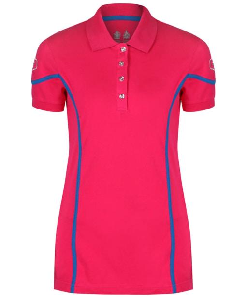 Women's Musto Team Polo Shirt - Bright Rose