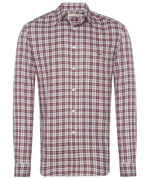 R.M. Williams Collins Shirt - White / Red / Navy