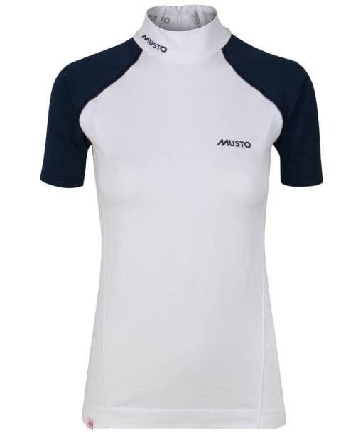 Women's Musto Performance Stock Shirt - True Navy/White