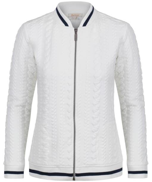Women's Barbour Kelsey Sweatshirt Jacket - Cloud