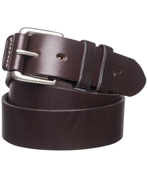 Men's R.M. Williams Covered Buckle Belt - Chesnut