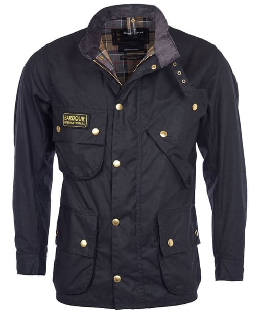 Barbour International Original Wax Jacket -  Black