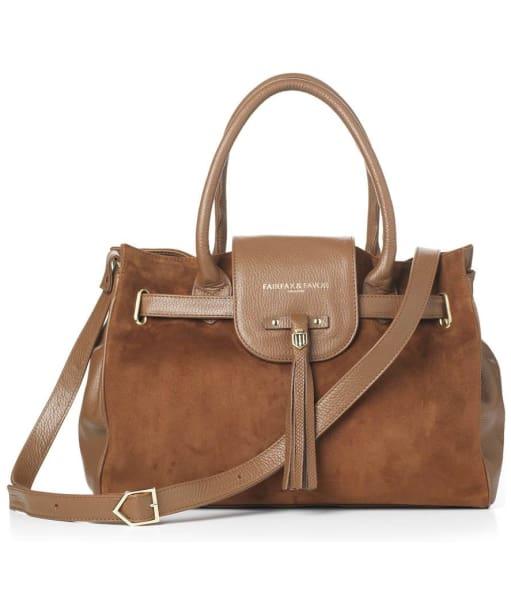 Women's Fairfax & Favor Windsor Handbag - Tan