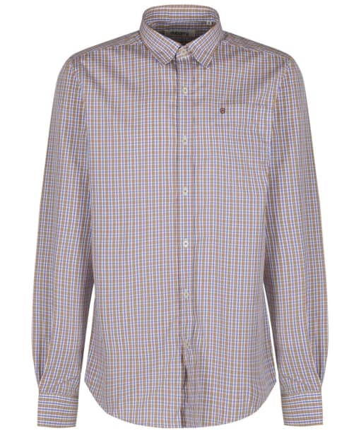 Men's Dubarry Ballincollig Long Sleeve Shirt - Brown Multi Patchwork