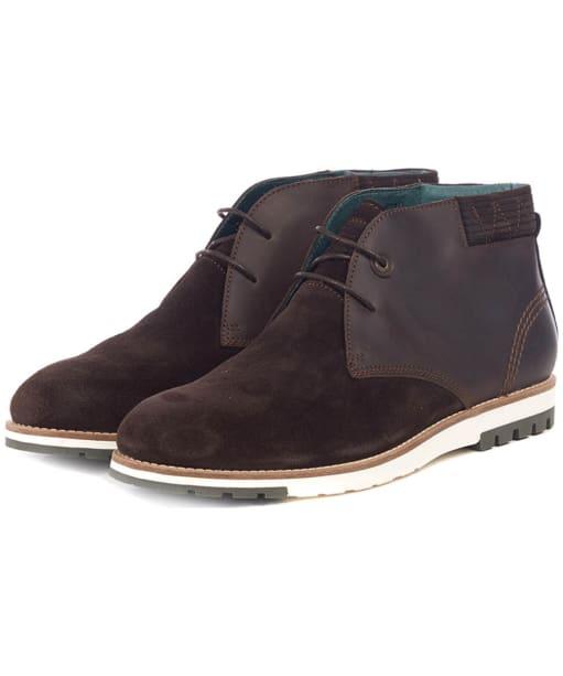 Men's Barbour Heppel Boots - Chocolate