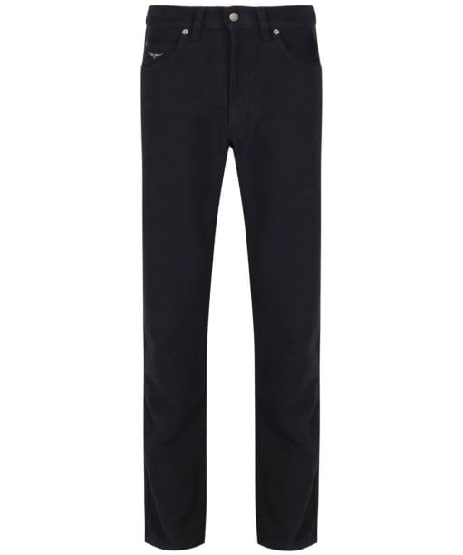 Men's R.M Williams Overseer Luxury Moleskin Jeans - Steel