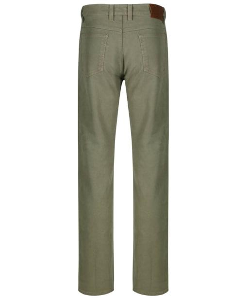 Men's R.M Williams Overseer Luxury Moleskin Jeans - Doeskin
