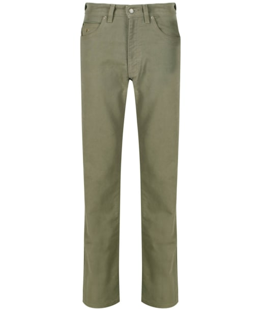 Men's R.M Williams Overseer Luxury Moleskin Jeans - Doeskin