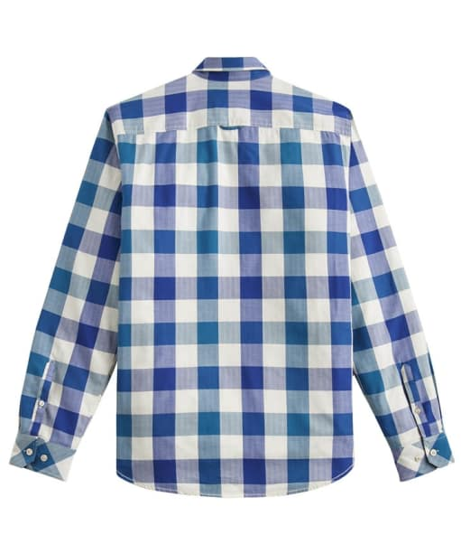 Men's Joules Hewitt Slim Fit Shirt - Blue Teal Gingham