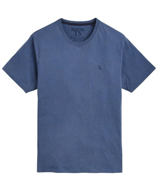 Men's Joules Marl Jersey T-Shirt - Deep Blue Marl