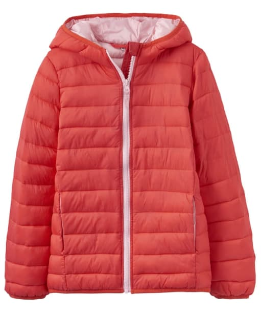 Girl's Joules Junior Kinnaird Padded Jacket, 7-12yrs - Red