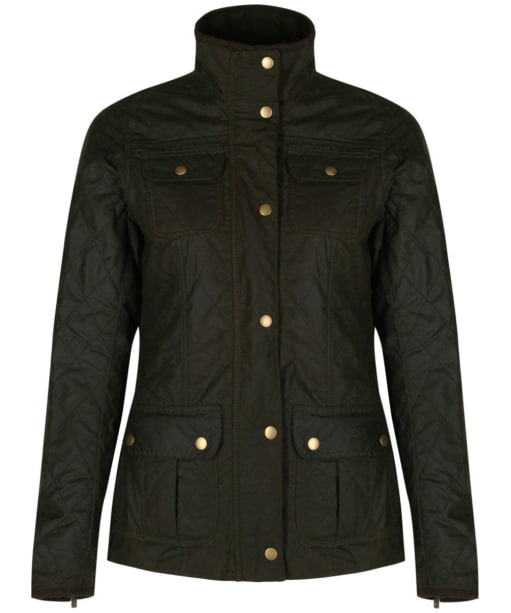 Women's Barbour Liberty Pepper Quilted Utility Jacket - Olive