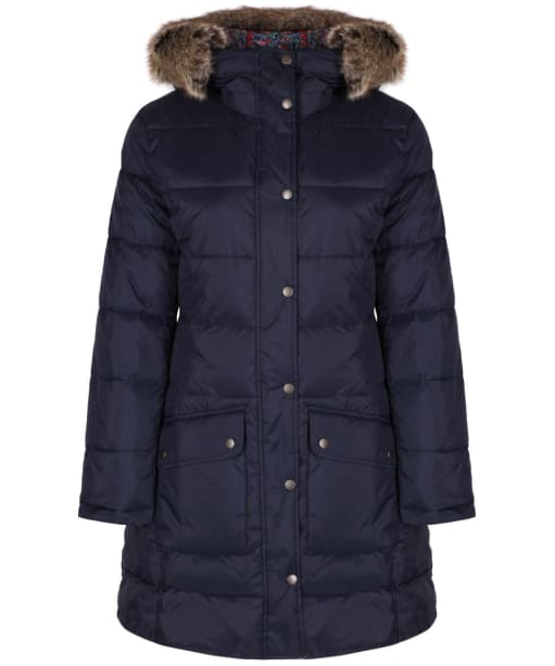 Women's Barbour Liberty Buoy Quilted Tatum Jacketet - Navy