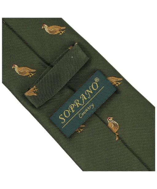 Men's Soprano Grouse Tie - Green