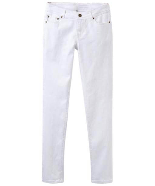 Women's Joules Monroe White Jeans - Bright White