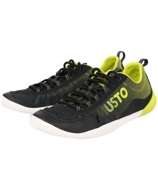Men's Musto Dynamic Pro Shoe - Black / Lime