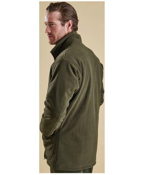 Men's Barbour Dunmoor Fleece Jacket - Olive