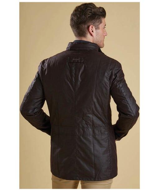 Men's Barbour Corbridge Waxed Jacket - Rustic