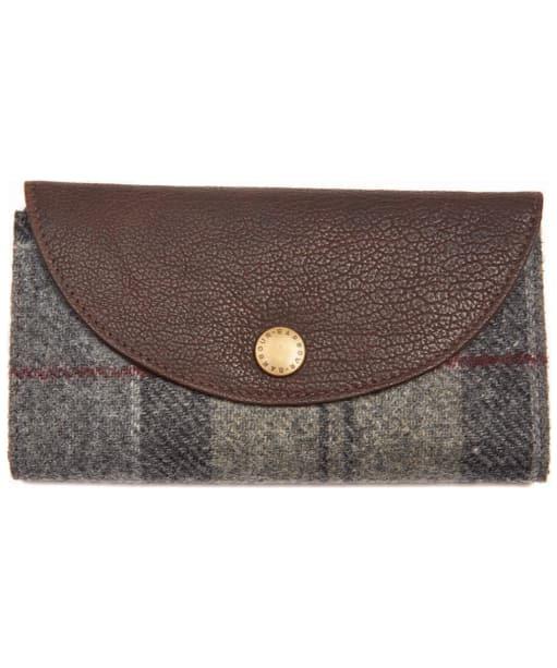 Women's Barbour Wool Tartan Purse - Winter Tartan
