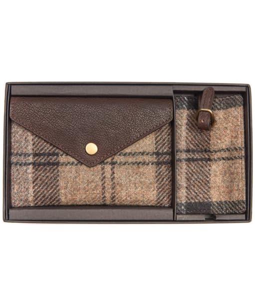 Women's Barbour Wool Tartan Travel Set - Winter Tartan