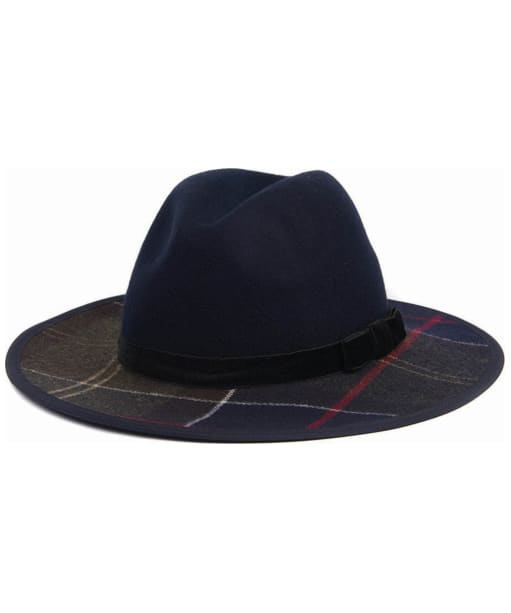 Women's Barbour Thornhill Fedora Hat - Navy / Classic
