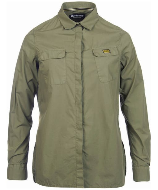 Women's Barbour International Dunnet Shirt - Khaki