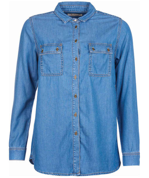 Women's Barbour Ashby Shirt - Mid Chambray