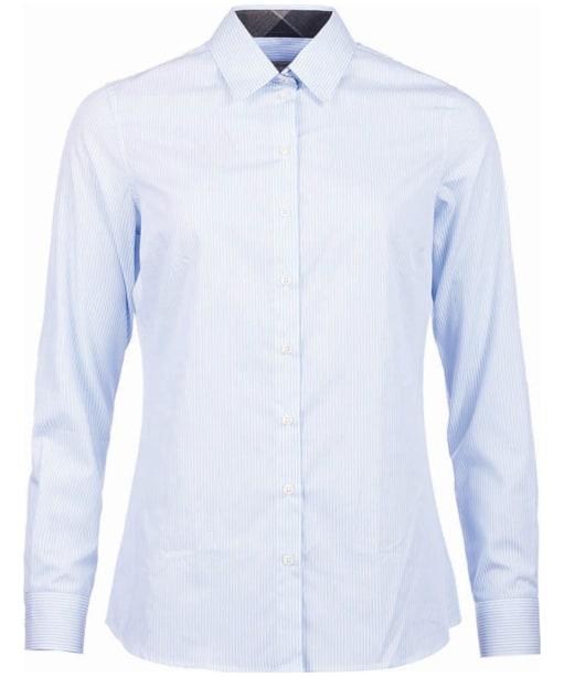 Women's Barbour Stowe Shirt - Blue / White